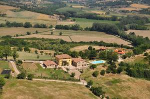 Bouwkavels in Toscane