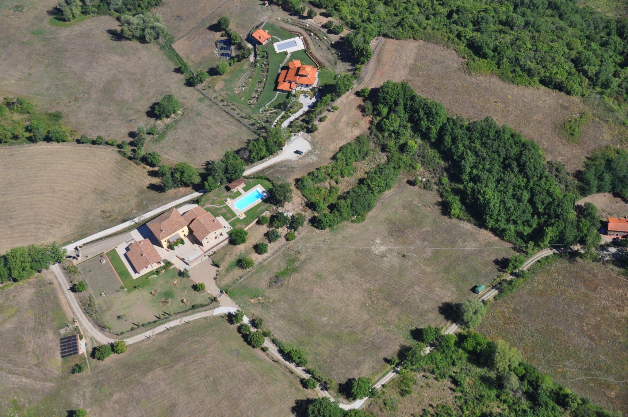 Grote bouwkavel in Toscane