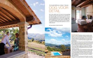 Smaak van Italie artikel Borgo La Casa mei 2012