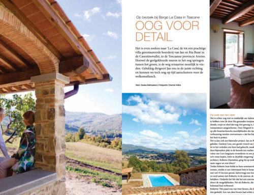 Artikel in de Smaak van Italië – Op bezoek bij Borgo La Casa