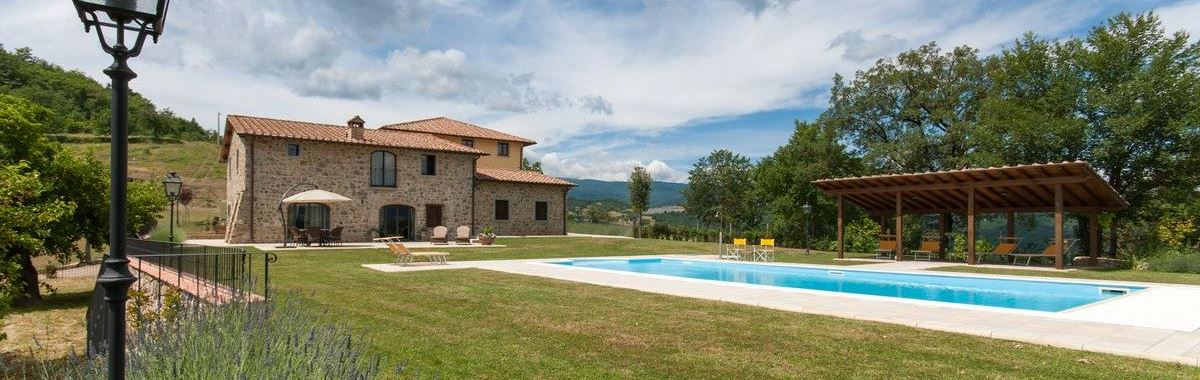 Holiday villa, home, for 6 people in Borgo La Casa, Poppi, Bibbiena, Tuscany