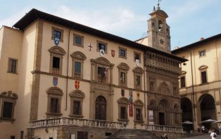 La piazza Grande Arezzo Casentino Vakantievilla voor 4, 6 of 10 personen