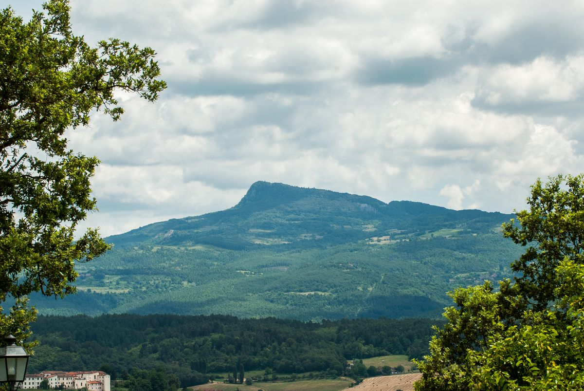 Toscane heuvels wandelen