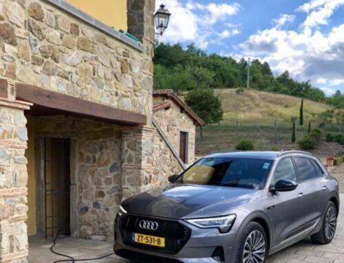 Vakantievilla in Toscane met laadpaal voor elektrische auto's